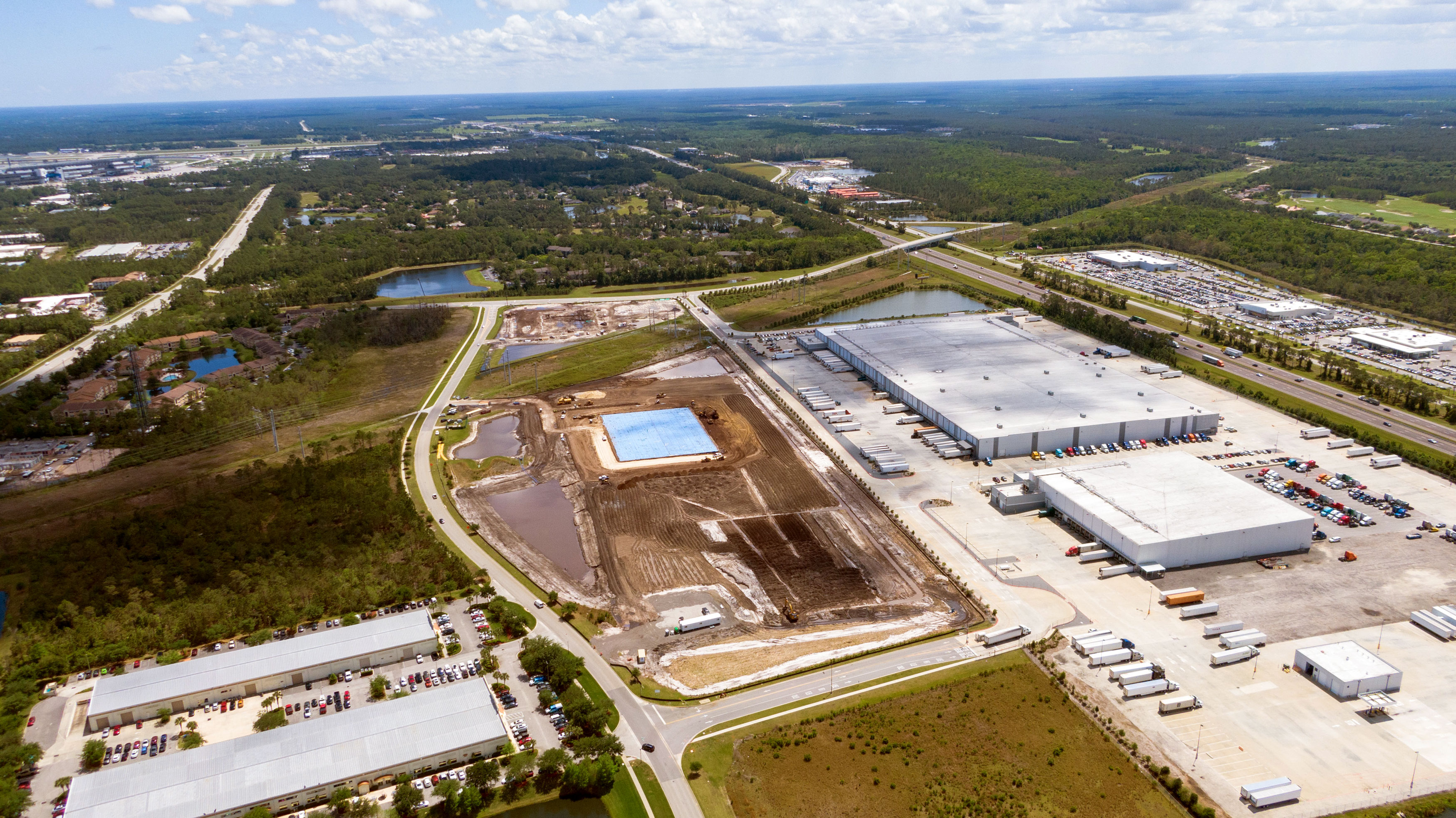 Amazon Fulfillment Center - Consolidated Tomoka Land Company