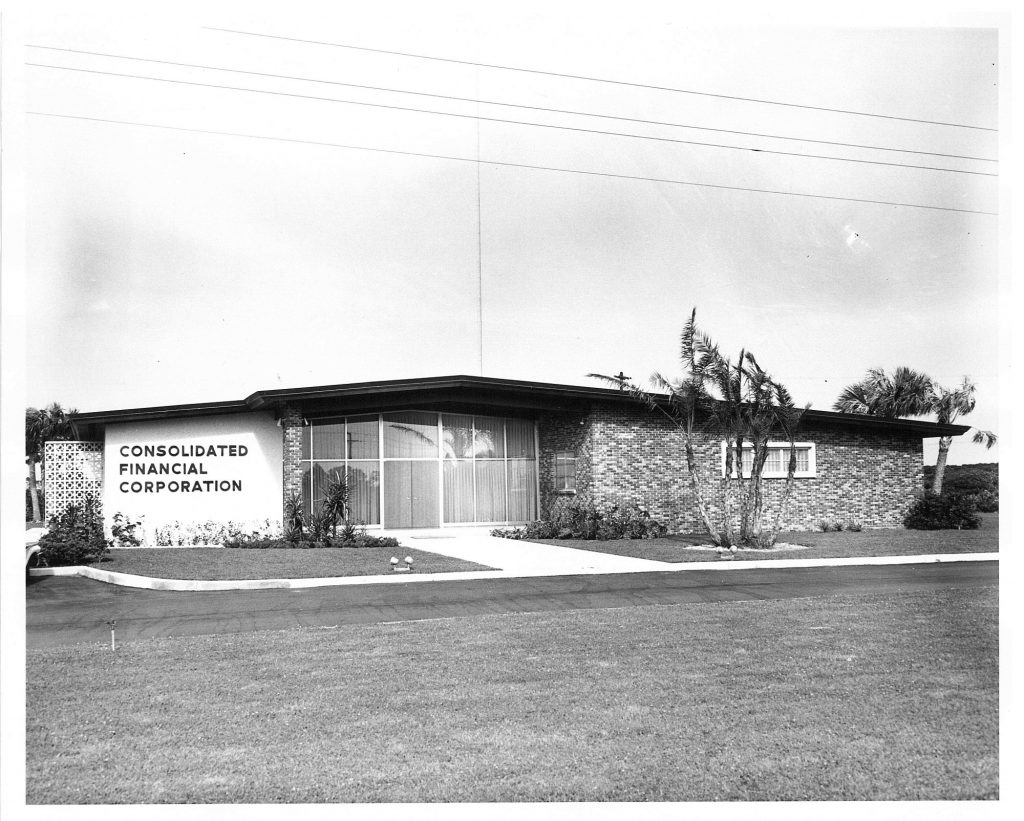 Consolidated Financial Corporation 1961